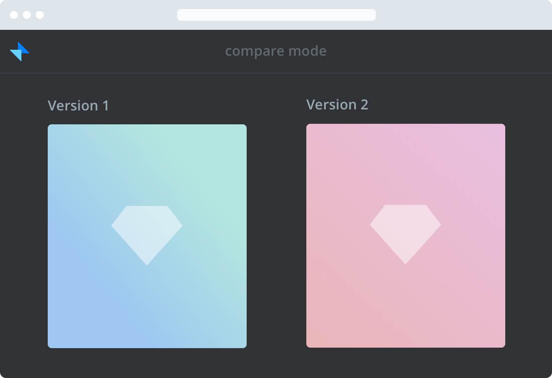 Compare versions